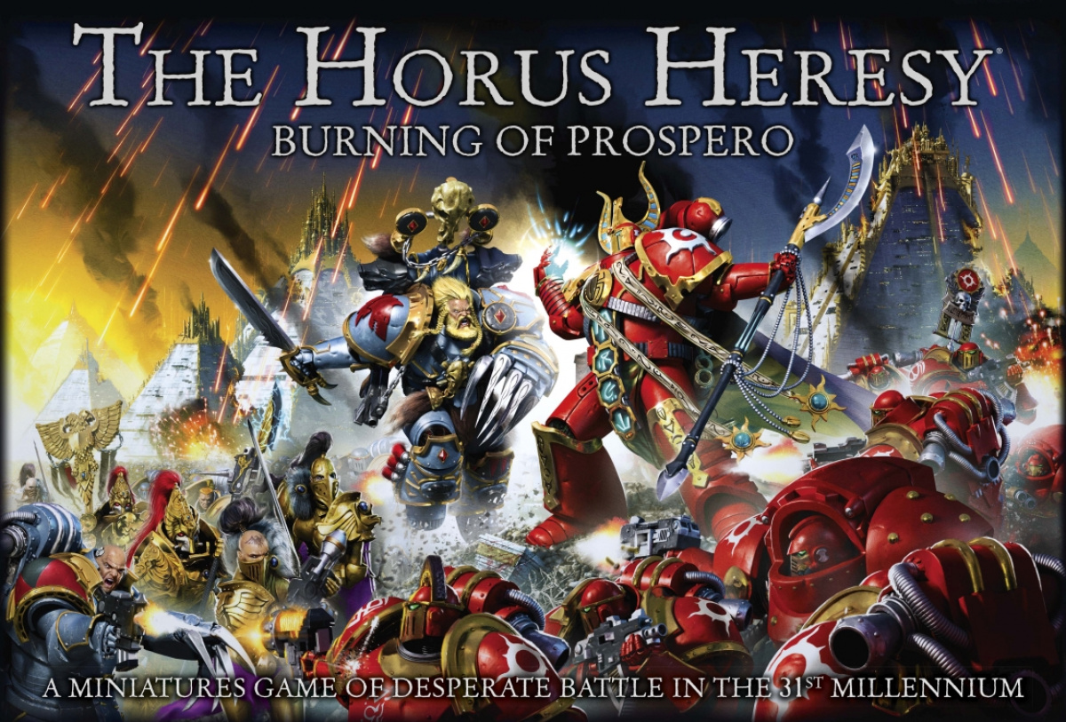 The Horus Heresy: Burning of Prospero