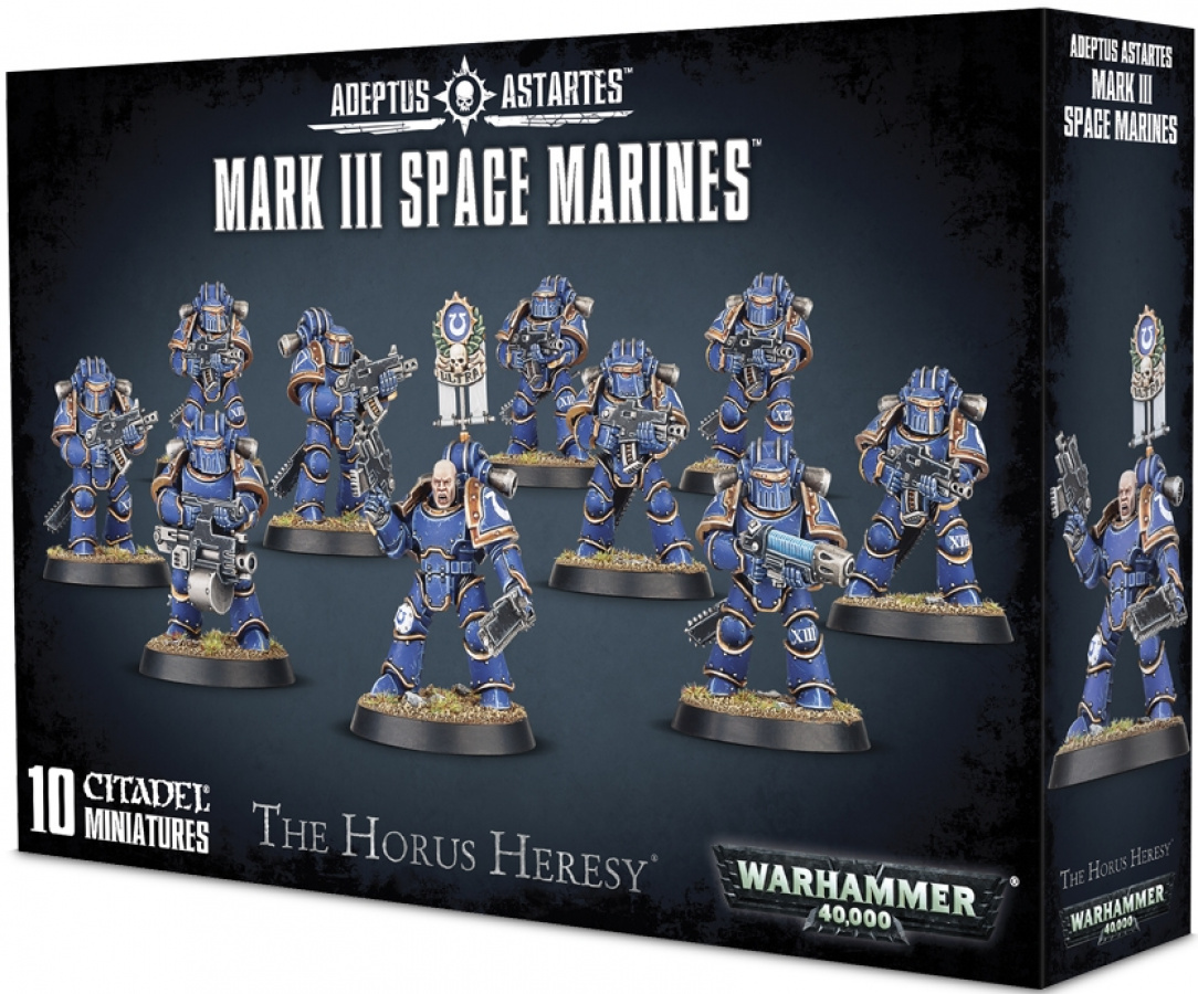 The Horus Heresy: Adeptus Astartes - Mark III Space Marines