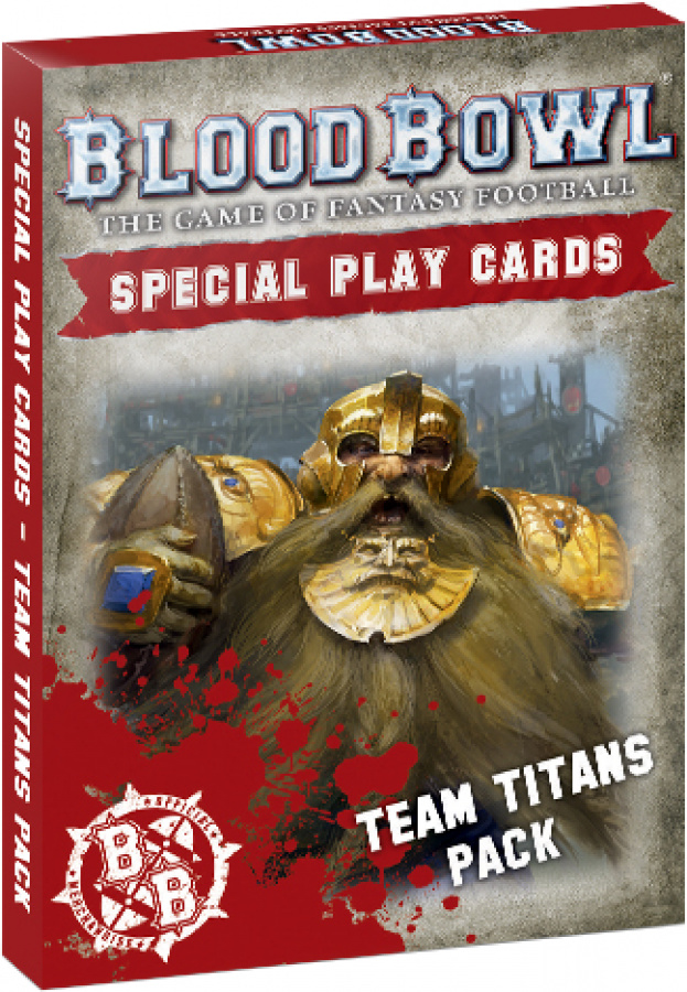 Blood Bowl: Special Play Cards - Team Titans Pack