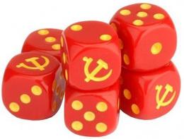 Komplet Kości Tanks - Soviet Dice