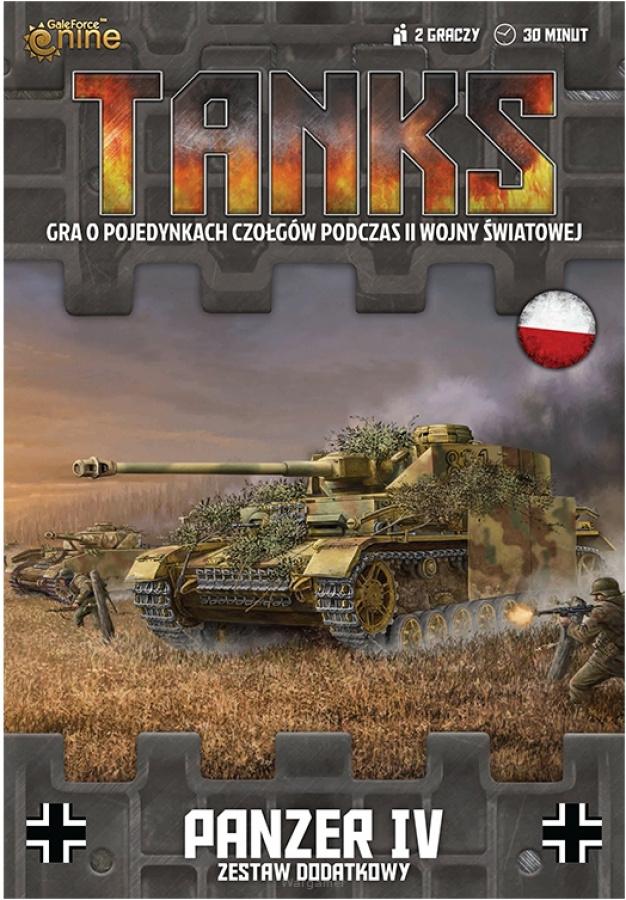 Tanks: Niemcy - Panzer IV - Zestaw Dodatkowy