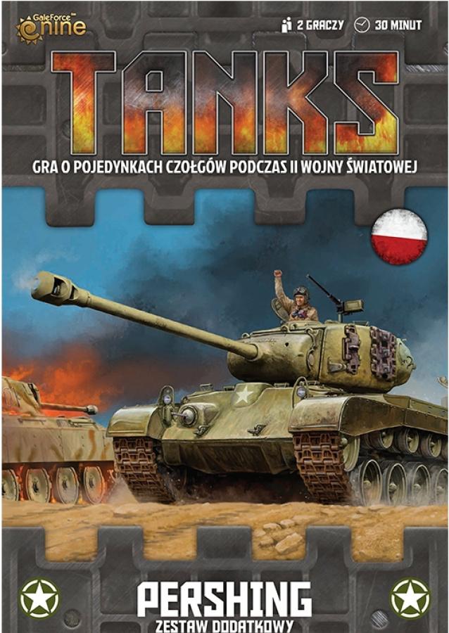 Tanks: USA - Pershing / Super Pershing - Zestaw Dodatkowy