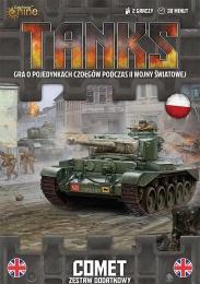 Tanks: Wielka Brytania - Comet - Zestaw Dodatkowy