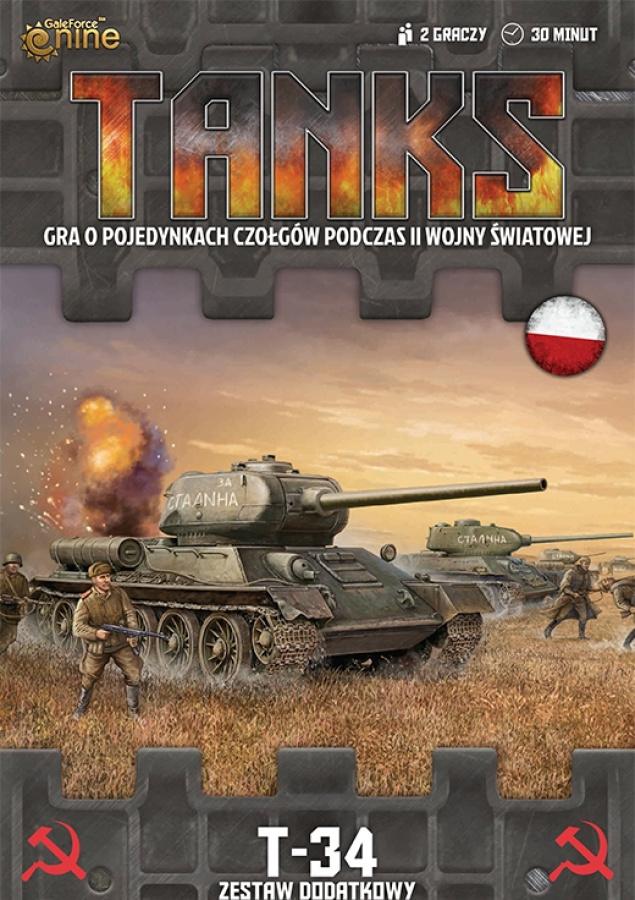 Tanks: ZSRR - T-34 lub T-34/85 - Zestaw Dodatkowy