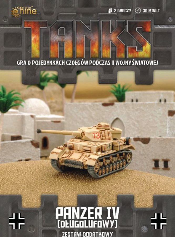 Tanks: Niemcy - Panzer IV (długolufowy)