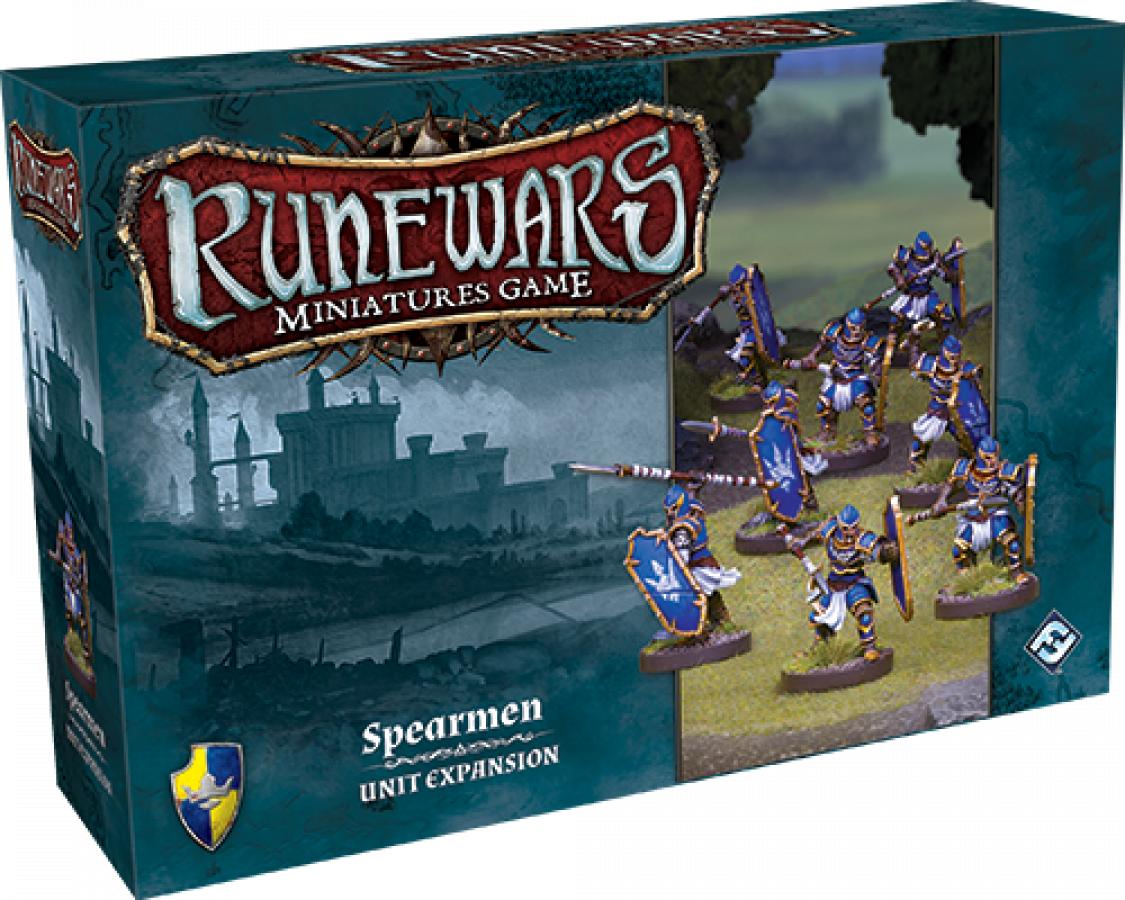 RuneWars: The Miniatures Game - Spearmen Unit Expansion