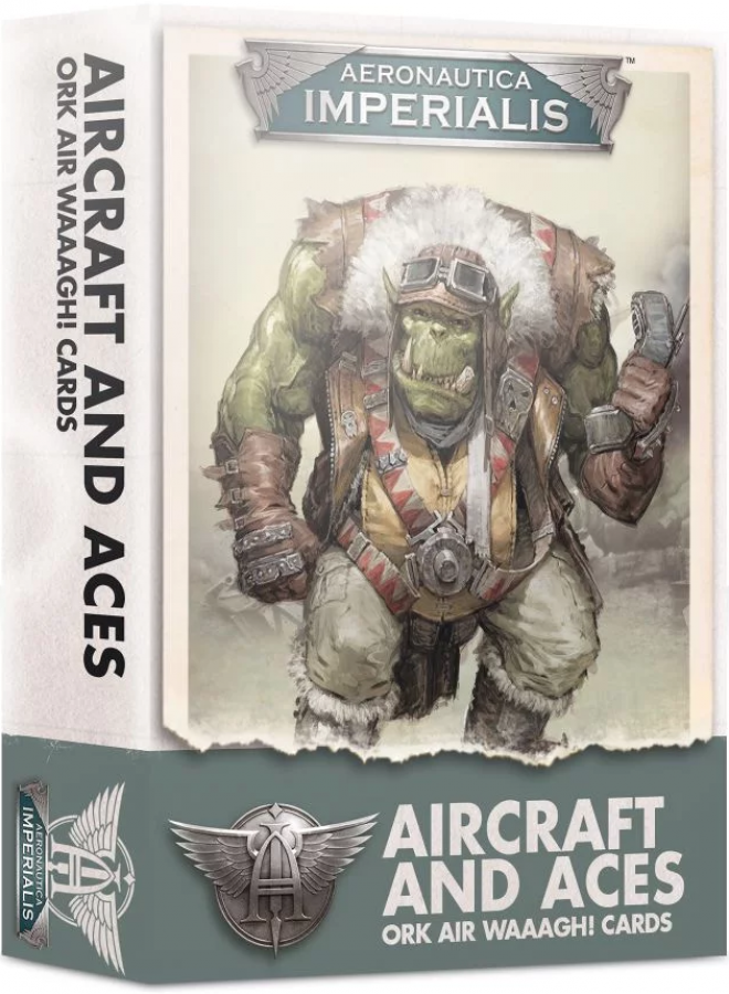 Aeronautica Imperialis: Aircraft and Aces - Ork Air Waaagh! Cards