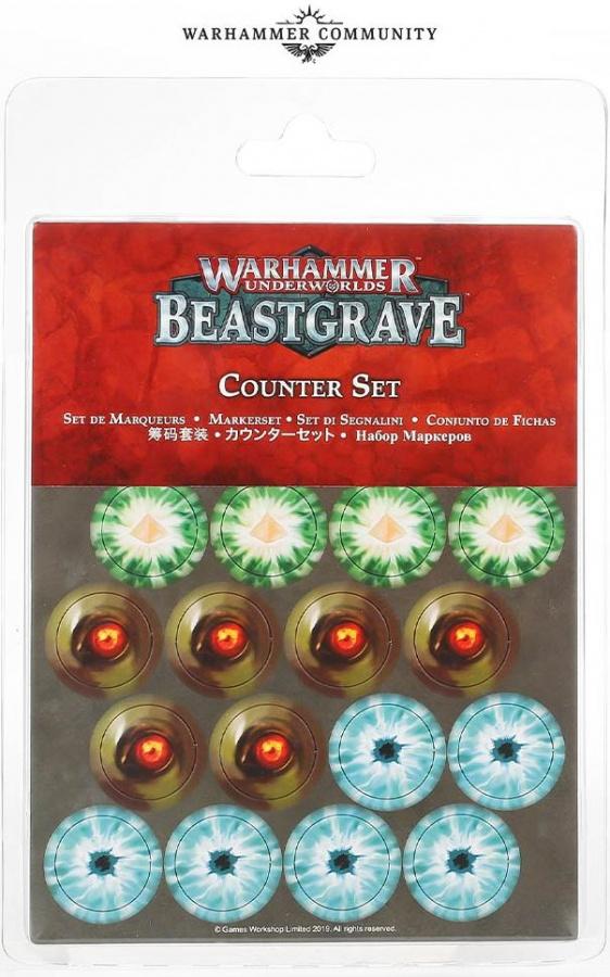 Warhammer Underworlds: Beastgrave - Counter Set