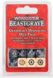Warhammer Underworlds: Beastgrave - Grashrak's Despoilers Dice Pack