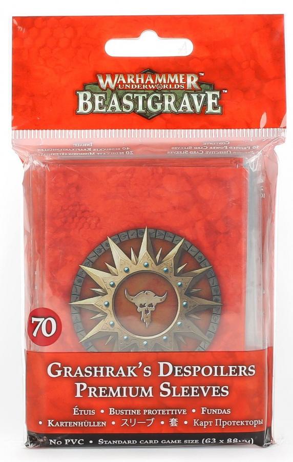 Warhammer Underworlds: Beastgrave - Grashrak's Despoilers Sleeves