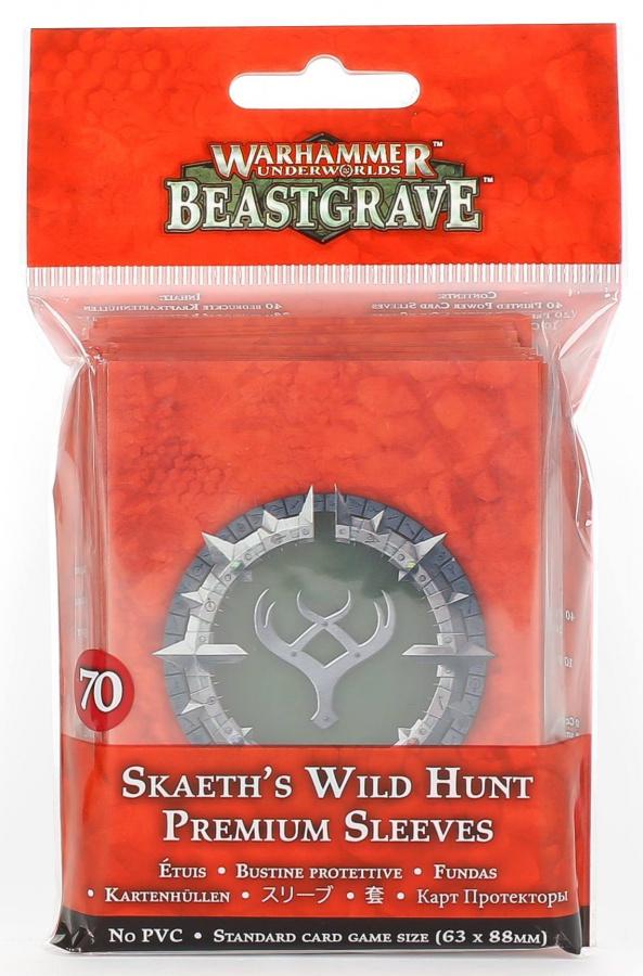 Warhammer Underworlds: Beastgrave - Skaeth's Wild Hunt Sleeves