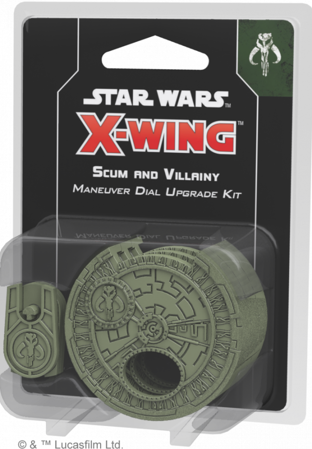Star Wars: X-Wing - Scum and Villainy Maneuver Dial Upgrade Kit (druga edycja)