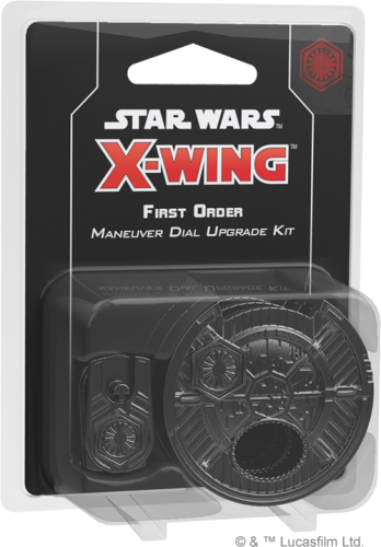 Star Wars: X-Wing - First Order Maneuver Dial Upgrade Kit (druga edycja)
