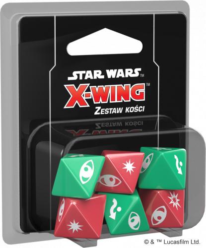 Star Wars: X-Wing - Zestaw kości (druga edycja)