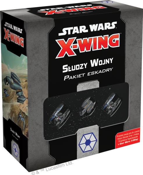 Star Wars: X-Wing - Pakiet eskadry - Słudzy Wojny (druga edycja)