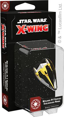 Star Wars: X-Wing - Myśliwiec N-1 Korpusu Królewskiego Naboo (druga edycja)