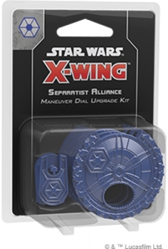 Star Wars: X-Wing - Separatist Alliance Maneuver Dial Upgrade Kit (druga edycja)
