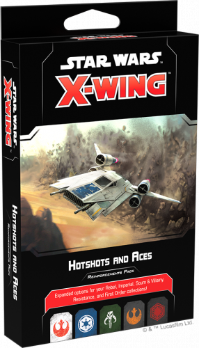 X-Wing 2nd ed.: Hotshots and Aces Reinforcements Pack