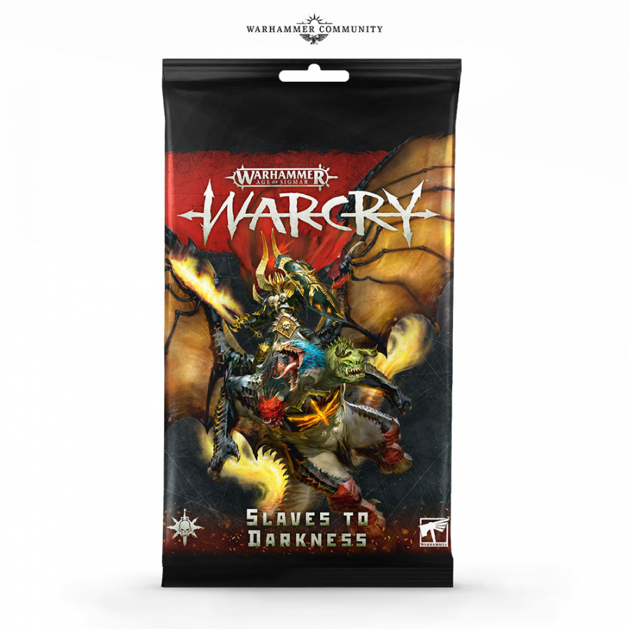 Warhammer: Warcry - Slaves to Darkness - Card Pack