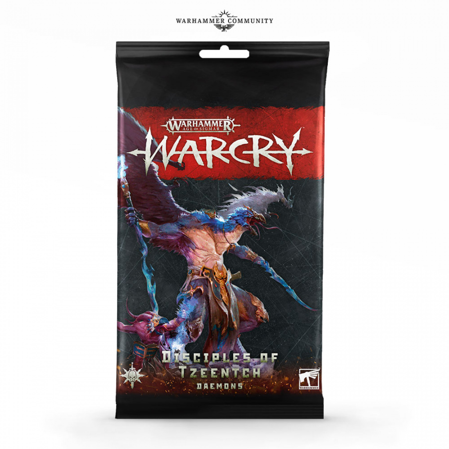 Warhammer: Warcry - Disciples of Tzeentch - Daemons - Card Pack