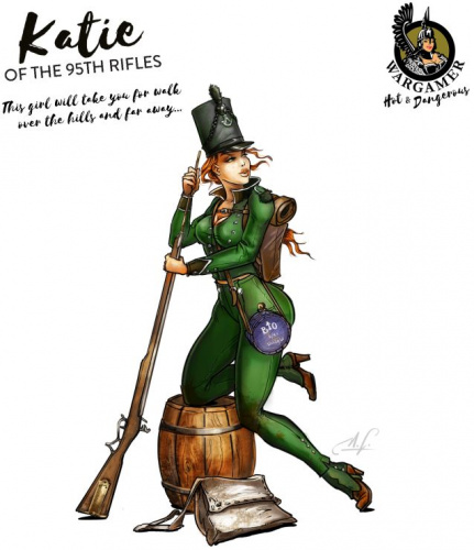 Hot & Dangerous: Katie from the 95th Rifle (28 mm)