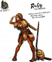 Hot & Dangerous: Ruby, the Trapper (54 mm)