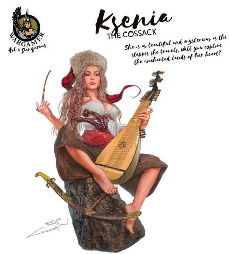 Hot & Dangerous: Ksenia, the Cossack (54 mm)