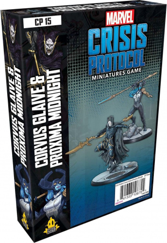 Marvel: Crisis Protocol - Corvus Glaive and Proxima Midnight