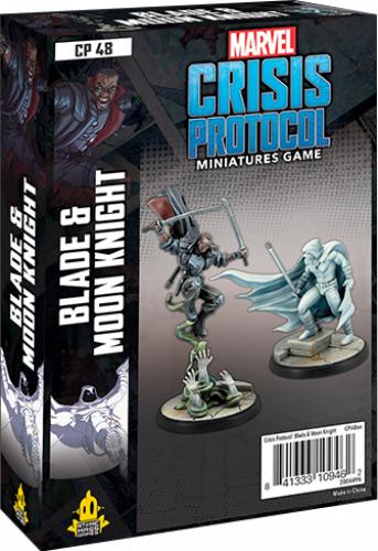 Marvel: Crisis Protocol - Blade & Moon Knight