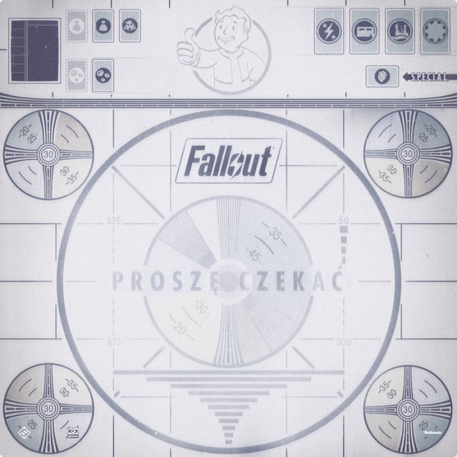 Fallout: Proszę czekać - Mata do gry