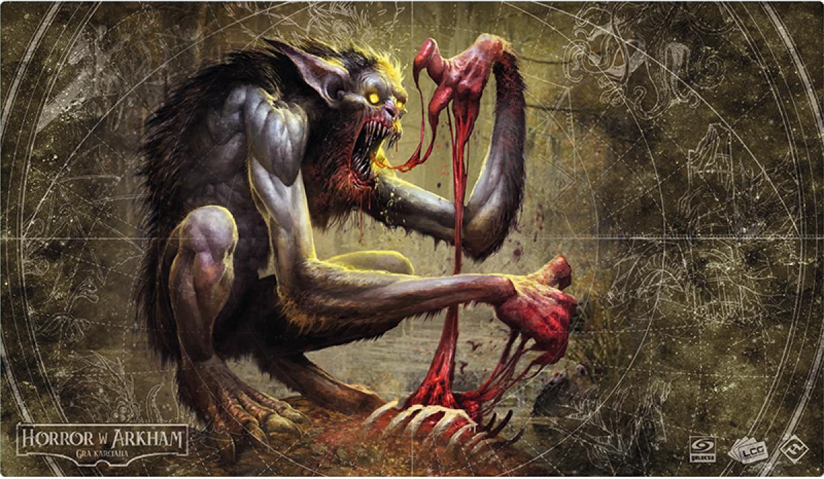 Horror w Arkham: Nienasycona żądza krwi - Mata do gry