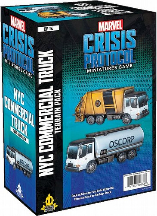 Marvel: Crisis Protocol - NYC Commercial Truck