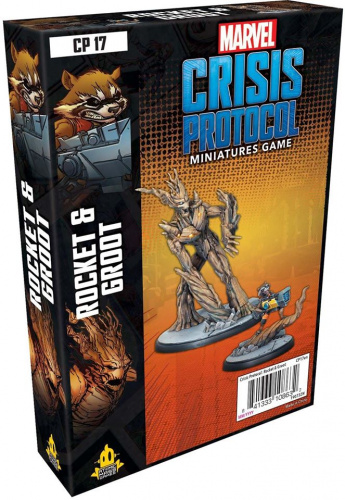 Marvel: Crisis Protocol - Rocket and Groot