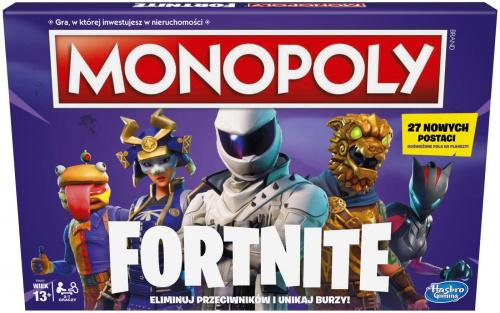 Monopoly: Fortnite (polska edycja fioletowa)