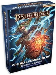 Pathfinder Roleplaying Game (Second Edition): Critical Fumble Deck