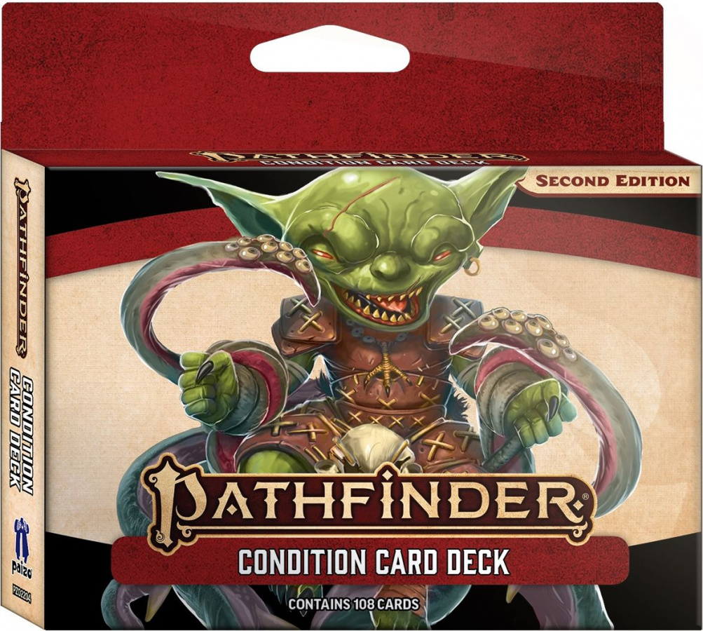 Pathfinder Roleplaying Game (Second Edition): Condition Card Deck