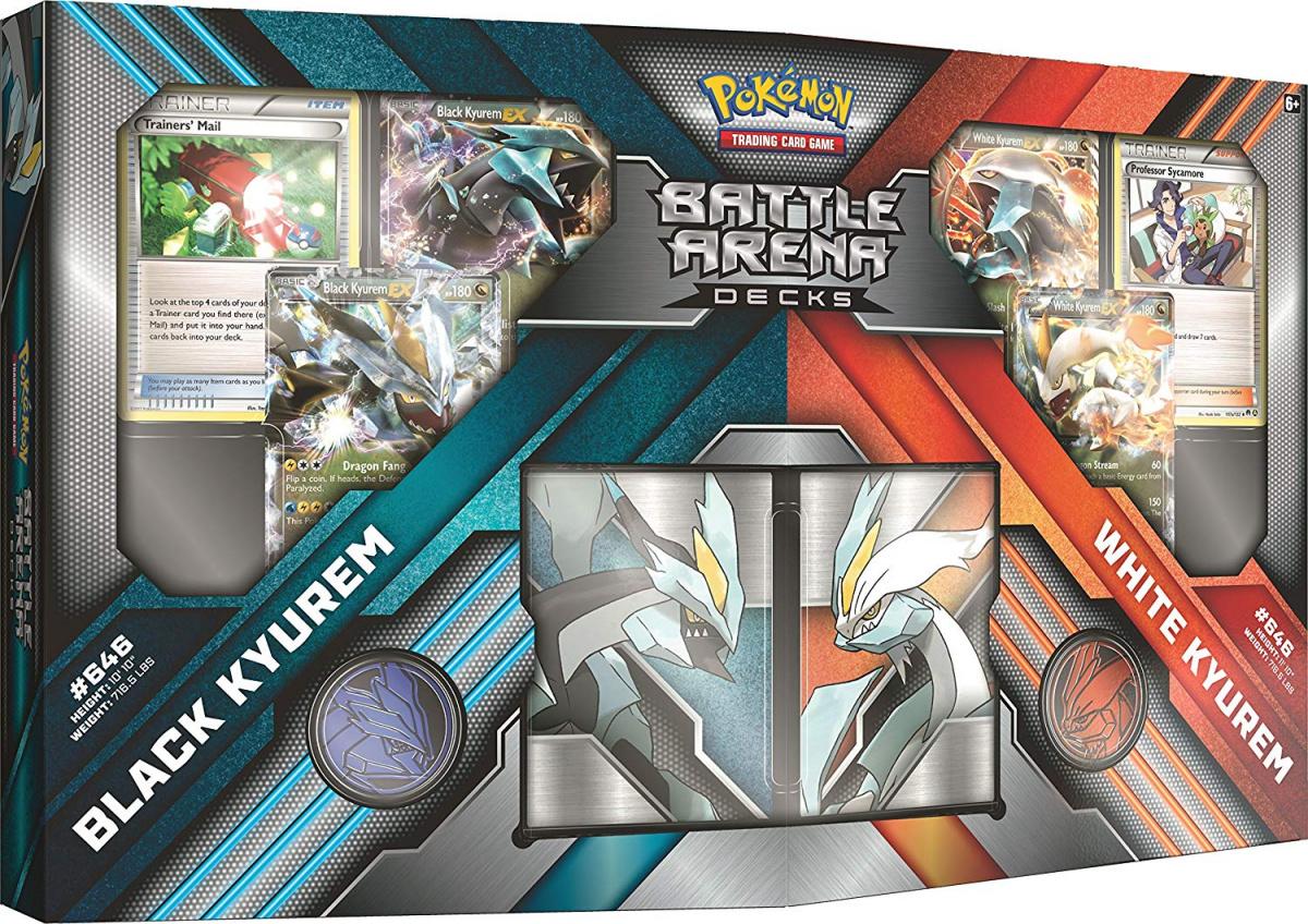 Pokemon TCG: Battle Arena - Black Kyurem vs. White Kyurem