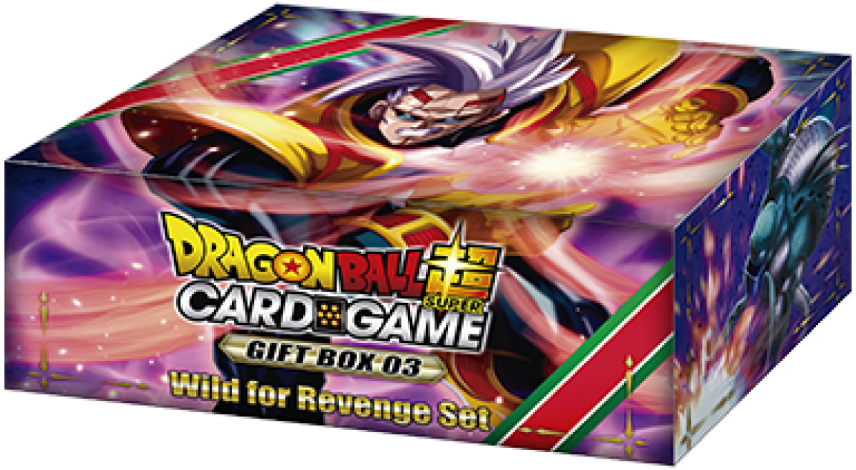 Dragon Ball Super Card Game: Gift Box 03 - Wild for Revenge Set