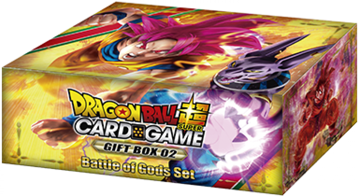 Dragon Ball Super Card Game: Gift Box 02 - Battle of Gods Set