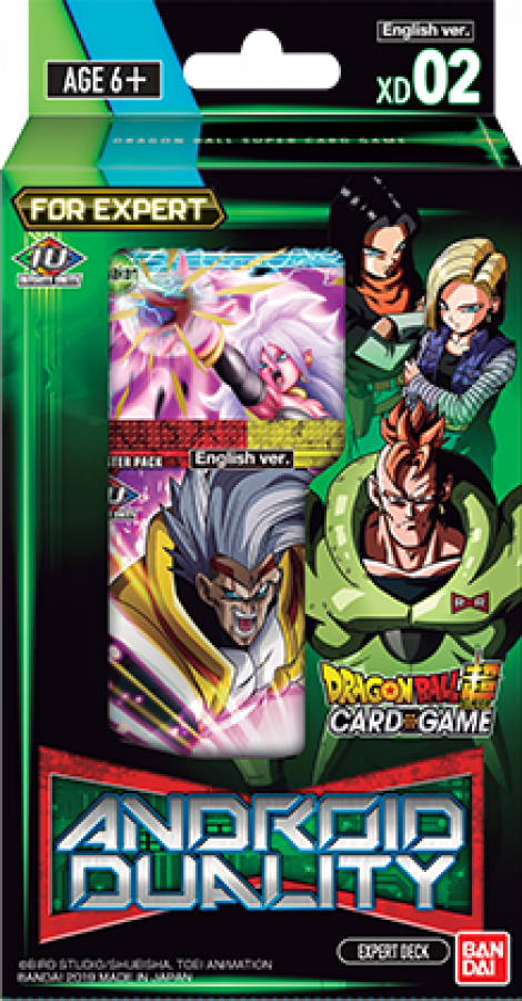 Dragon Ball Super Card Game: Android Duality - Expert Deck