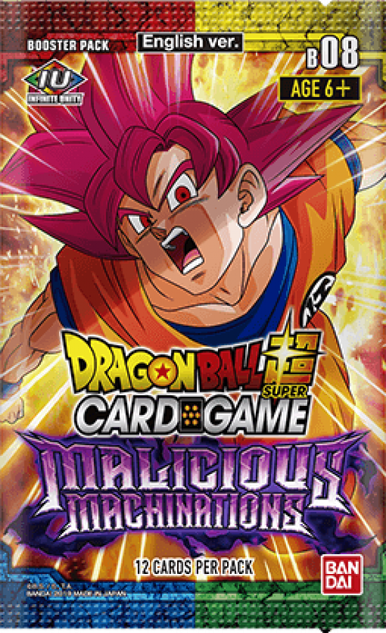 Dragon Ball Super Card Game: Malicious Machinations - Booster Pack