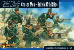 Black Powder: Napoleonic - 95th Rifles - Chosen Men