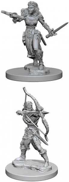 Dungeons & Dragons: Nolzur's Marvelous Miniatures - Female Elf Ranger