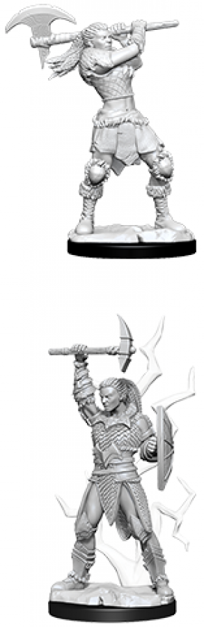 Dungeons & Dragons: Nolzur's Marvelous Miniatures - Female Goliath Barbarian