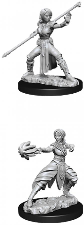 Dungeons & Dragons: Nolzur's Marvelous Miniatures - Female Half Elf Monk