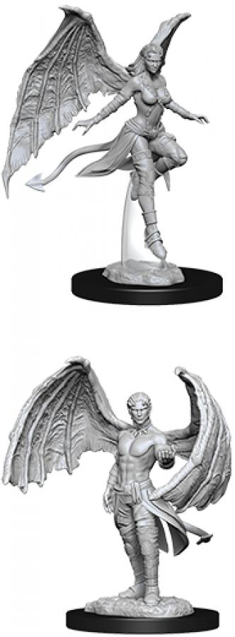 Dungeons & Dragons: Nolzur's Marvelous Miniatures - Succubus & Incubus