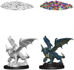 Dungeons & Dragons: Nolzur's Marvelous Miniatures - Blue Dragon Wyrmling