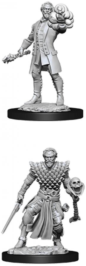 Dungeons & Dragons: Nolzur's Marvelous Miniatures - Male Human Warlock