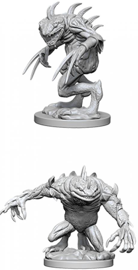 Dungeons & Dragons: Nolzur's Marvelous Miniatures - Gray Slaad & Death Slaad