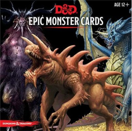 Dungeons & Dragons: Epic Monster Cards